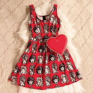 Retrolicious I'm Wiggin' Out Novelty print dress